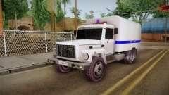 GAZ 3309 Policía