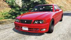 Toyota Chaser (JZX100) cambered [add-on] para GTA 5