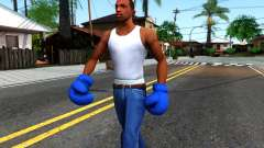 Blue Boxing Gloves Team Fortress 2