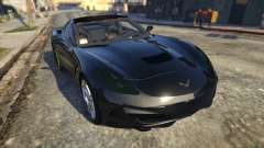 Drag Chevrolet Corvette C7 para GTA 5