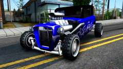 Duke Blue Hotknife Race Car para GTA San Andreas