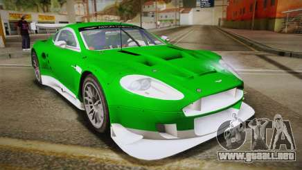 Aston Martin Racing DBR9 2005 v2.0.1 YCH Dirt para GTA San Andreas