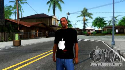 Apple T-shirt para GTA San Andreas