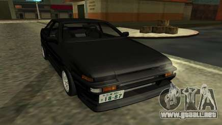 Toyota Corolla Levin (AE86) para GTA San Andreas