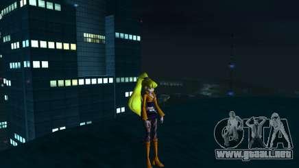 Stella Rock Outfit from Winx Club Rockstars para GTA San Andreas