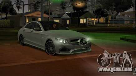 Mercedes-Benz C63 AMG W205 para GTA San Andreas
