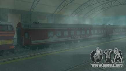 Compartimiento de coche Donetsk-Moscú para GTA San Andreas