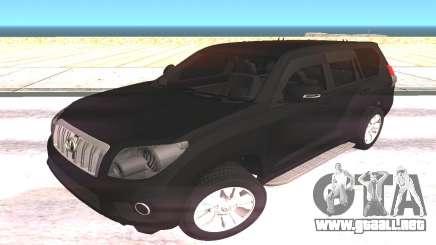 Toyota Land Cruiser Prado SUV para GTA San Andreas
