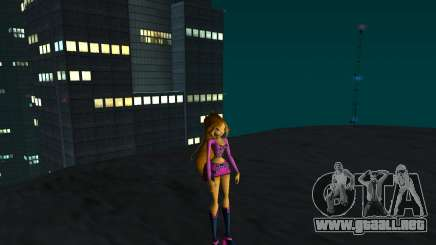 Flora Rock Outfit from Winx Club Rockstars para GTA San Andreas