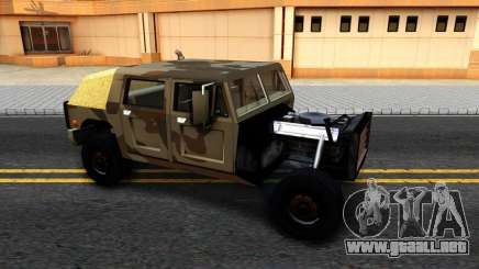 New Patriot GTA V para GTA San Andreas