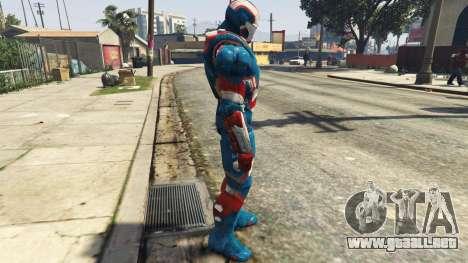 GTA 5 Iron Man Patriot segunda captura de pantalla