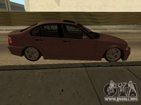 BMW 320i Armenian para GTA San Andreas left
