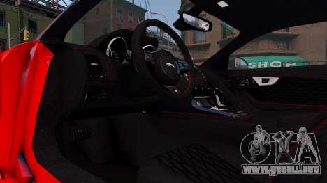 Jaguar F-Type SVR v1.0 2016 para GTA 4