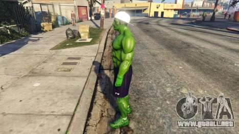 GTA 5 The Hulk with eyes