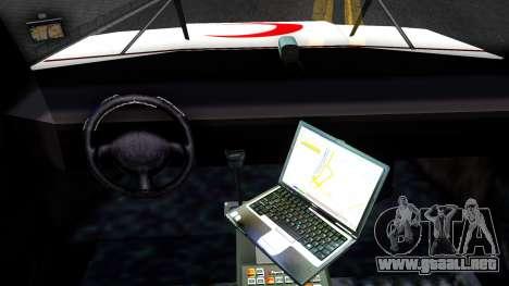 Ambulance Malaysia para visión interna GTA San Andreas