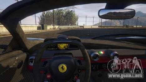 GTA 5 Ferrari LaFerrari Aperta 2017 vista lateral derecha