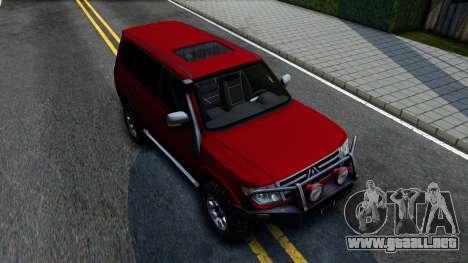 Mitsubishi Pajero IV para GTA San Andreas