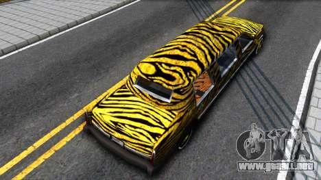 STReTTTcH LoWriDEr para GTA San Andreas vista hacia atrás