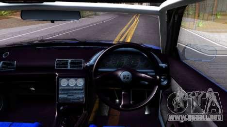 Nissan Skyline GTR R32 Rocket Bunny para visión interna GTA San Andreas