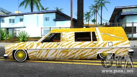 LoW RiDeR RoMeR0 para GTA San Andreas left