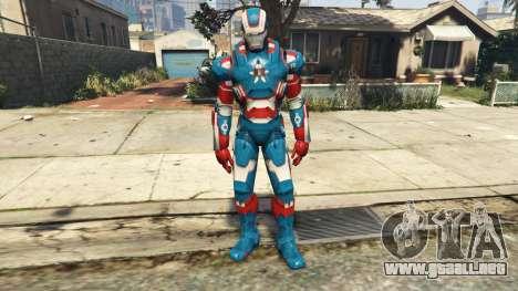 GTA 5 Iron Man Patriot