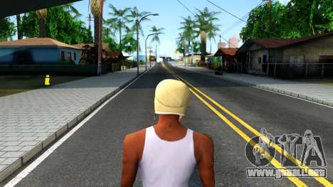 Winter Bomber Hat From The Sims 3 para GTA San Andreas tercera pantalla