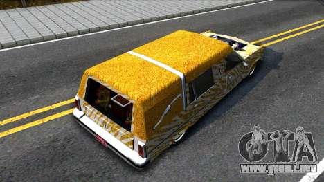 LoW RiDeR RoMeR0 para GTA San Andreas vista hacia atrás