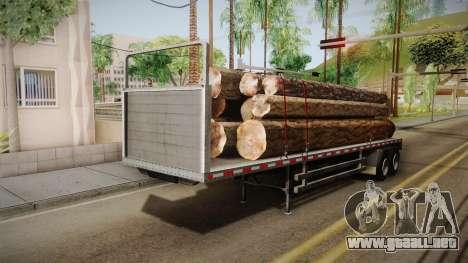 GTA 5 Log Trailer v3 IVF para GTA San Andreas