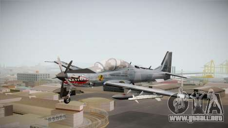 Embraer-314 Super Tucano para GTA San Andreas