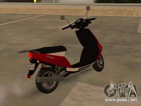 GTA IV Faggio para GTA San Andreas left
