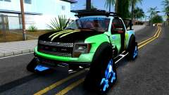 Ford F-150 SVT RaptorTRAX 2012 Ken Block