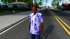 New Hawaii Shirt para GTA San Andreas