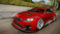 BMW M6 GT3 para GTA San Andreas