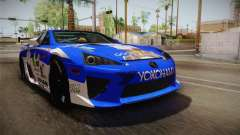 Lexus LFA Rem The Blue of ReZero para GTA San Andreas