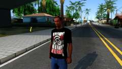 Nike Air Jordan S.O.M. Do You Know T-Shirt Black para GTA San Andreas
