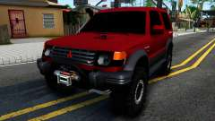Mitsubishi Pajero Off-Road 3 Door para GTA San Andreas