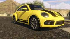 Limited Edition VW Beetle GSR 2012 para GTA 5