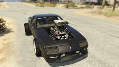 IROC-Z Big V8 Drag Car para GTA 5