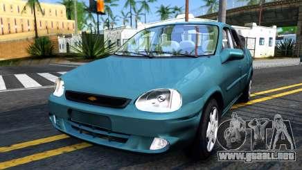 Chevrolet Corsa Classic 2009 para GTA San Andreas