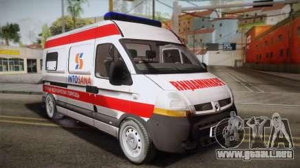Renault Master Ambulancia para GTA San Andreas