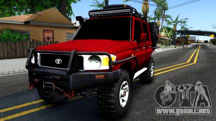 Toyota Land Cruiser 70 Off-Road V2.0 para GTA San Andreas