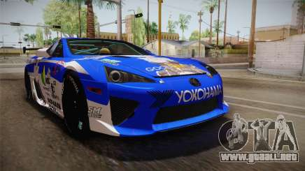 Lexus LFA Rem The Blue of ReZero para GTA San Andreas