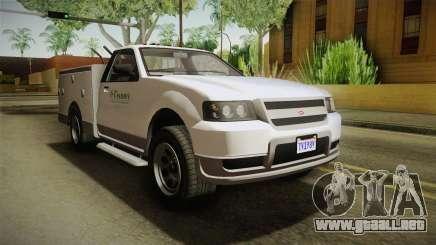 GTA 5 Vapid Utility Van IVF para GTA San Andreas
