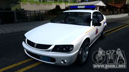 Declasse Merit Hometown Police Department 2004 para GTA San Andreas