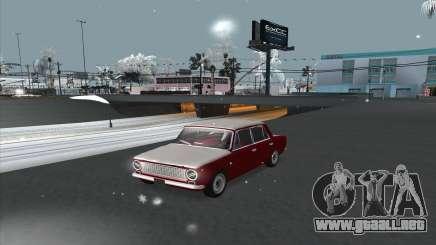 VAZ 2101 versión de nieve para GTA San Andreas