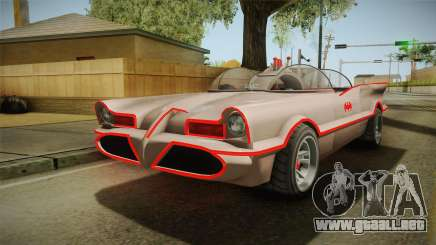 GTA 5 Vapid Peyote Batmobile 66 IVF para GTA San Andreas