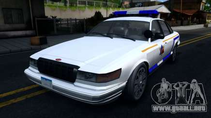 Vapid Stanier Hometown Police Department 2004 para GTA San Andreas