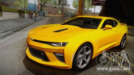 Chevrolet Camaro SS 2017 para GTA San Andreas