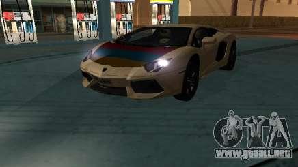 Lamborghini Aventador LP700-4 Armenian para GTA San Andreas