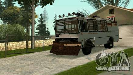 PAZ-32053 For the zombie Apocalypse para GTA San Andreas